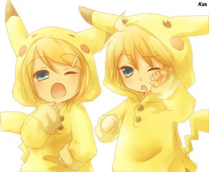 Render Pikachu kawai by GrayxFullbuster