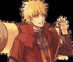 Naruto sennin -Render