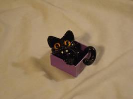 Basement Cat Iz Pleased by sandrabong