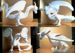 Hakuryu Anime Dragon-Feather