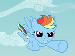Fly in the sky by RainbowDashREAL