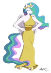Commission: Princess Celestia [+ Speedpaint]