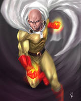 One Punch Man by Kensabay
