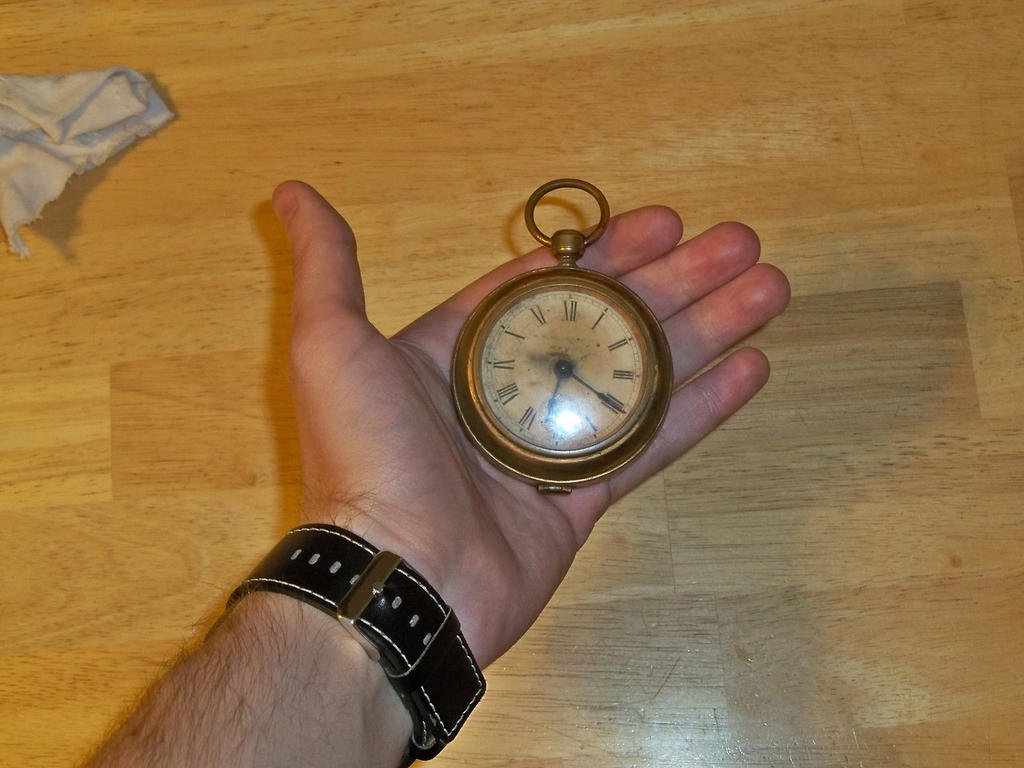 Steampunk Watch by refinedjester