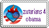 obama stamp by Fufucuddleypoops