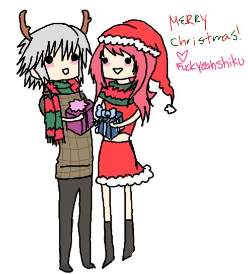 Shiku Merry Xmas by DemonKikyo