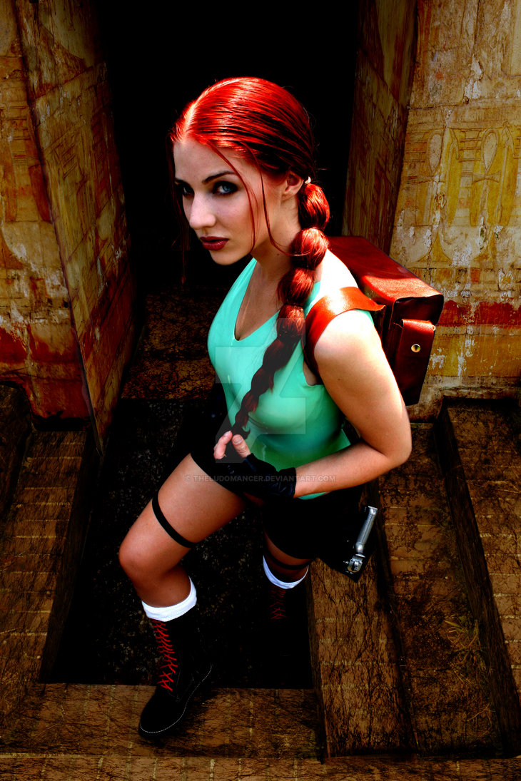 Tomb Raider In Egypt by Lucifer666mantus