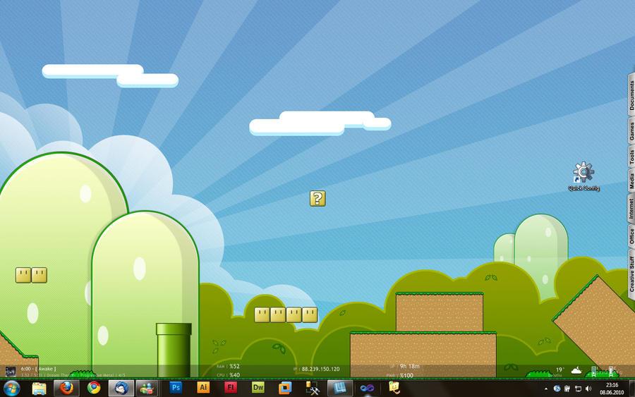 Desktop 7 by Lucifer666mantus