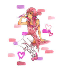 Colors project: PINK by chiroxsox