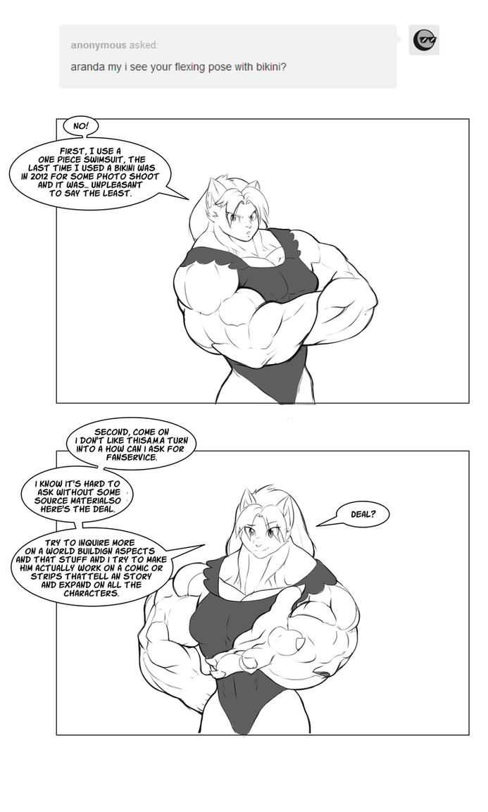 Aranda Answers Bikini by faogwolf