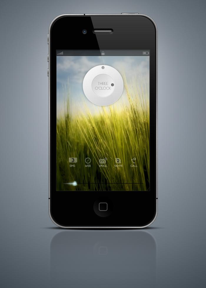 Lockscreen Mockup by App-Juice