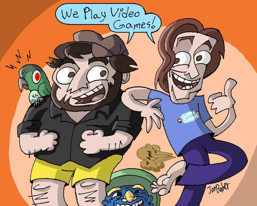 Game Grumps Cartoonimen by NewtMan