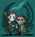 aSoIaF Cartoonimen- The Reeds