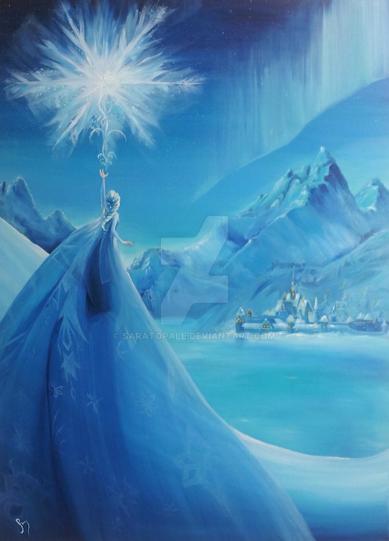Frozen Elsa by saratopale
