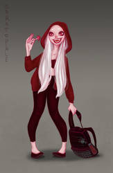 Vampire by saratopale