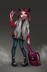 Vampire girl by saratopale