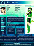 Kid Lantern:New proflie