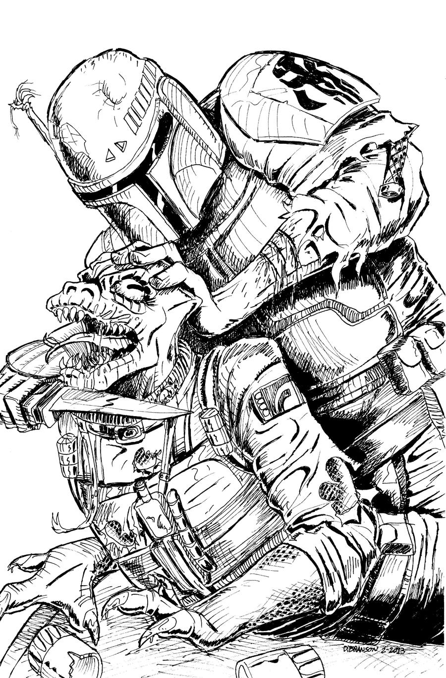 Star Wars Coloring Pages Boba Fett Star Wars Free Printable