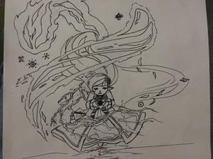 Inktober Day 7: Beatrice Ushiromiya (FFXIV)