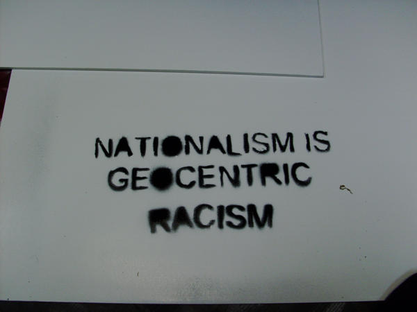 the link between nationalism and racism Nationalism and liberalism: the paradoxes of the paradoxes of self-determination a missing link between the discourses of nationalism and.
