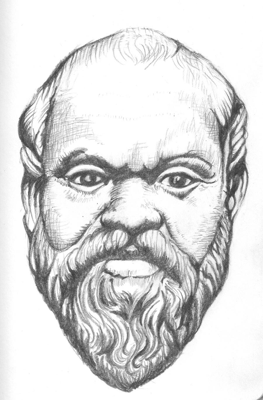 Socrates by Golgonooza on DeviantArt