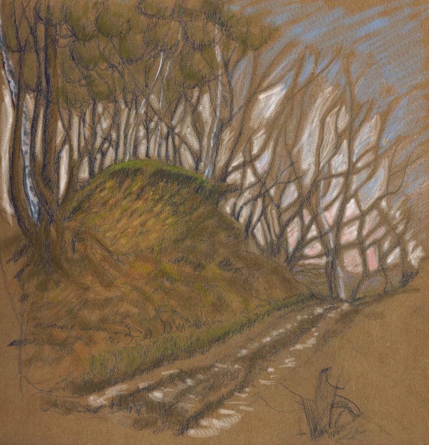 Greensand Way by Golgonooza