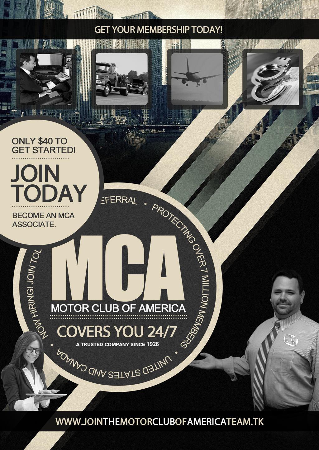 Membership plans motor club of america by grabmca on for Road america motor club