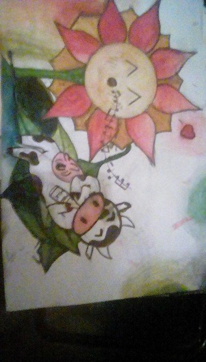 Flowey and koopa by EvilEEvEE1