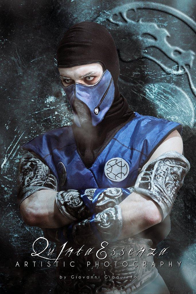 Leon Chiro as Sub-Zero - Mortal Kombat 9 by LeonChiroCosplayArt