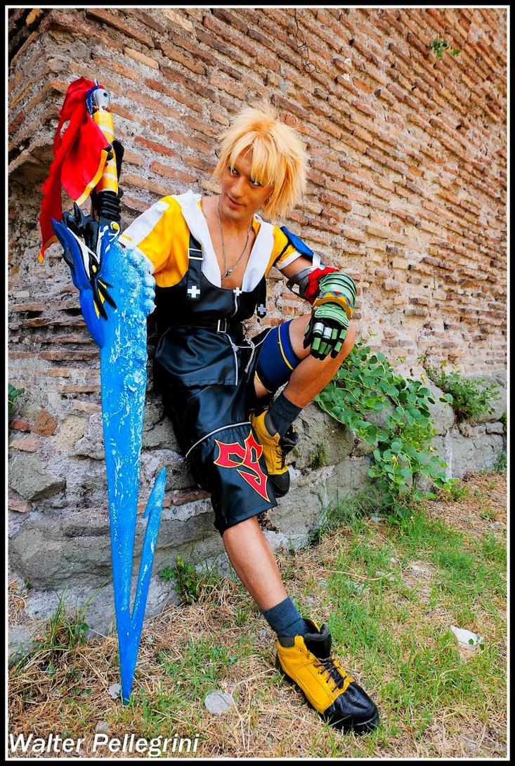 Leon Chiro as Tidus - Final Fantasy X by Walter P. by LeonChiroCosplayArt