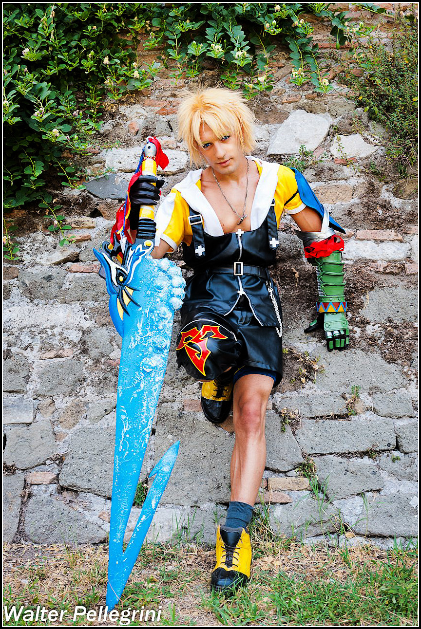 Leon Chiro as Tidus FFX - Forwards with Courage by LeonChiroCosplayArt