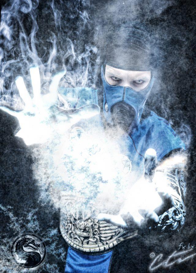 Sub-Zero Cosplay Freeze Artwork by LeonChiroCosplayArt