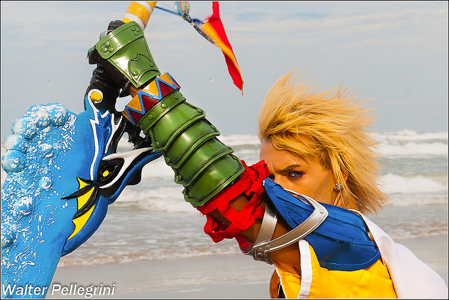 Listen To My Story - Tidus Final Fantasy X Cosplay by LeonChiroCosplayArt