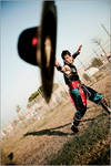 Kung Lao Cosplay - Romics 2011 by Leon Chiro