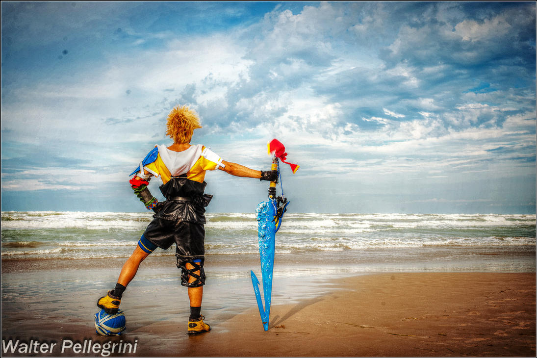 Leon Chiro as Tidus Final Fantasy X - Last Chance by LeonChiroCosplayArt