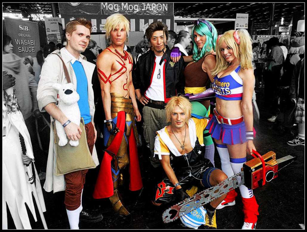 Japan Expo 2012 Best Memories -Cosplay is Friendsh by LeonChiroCosplayArt