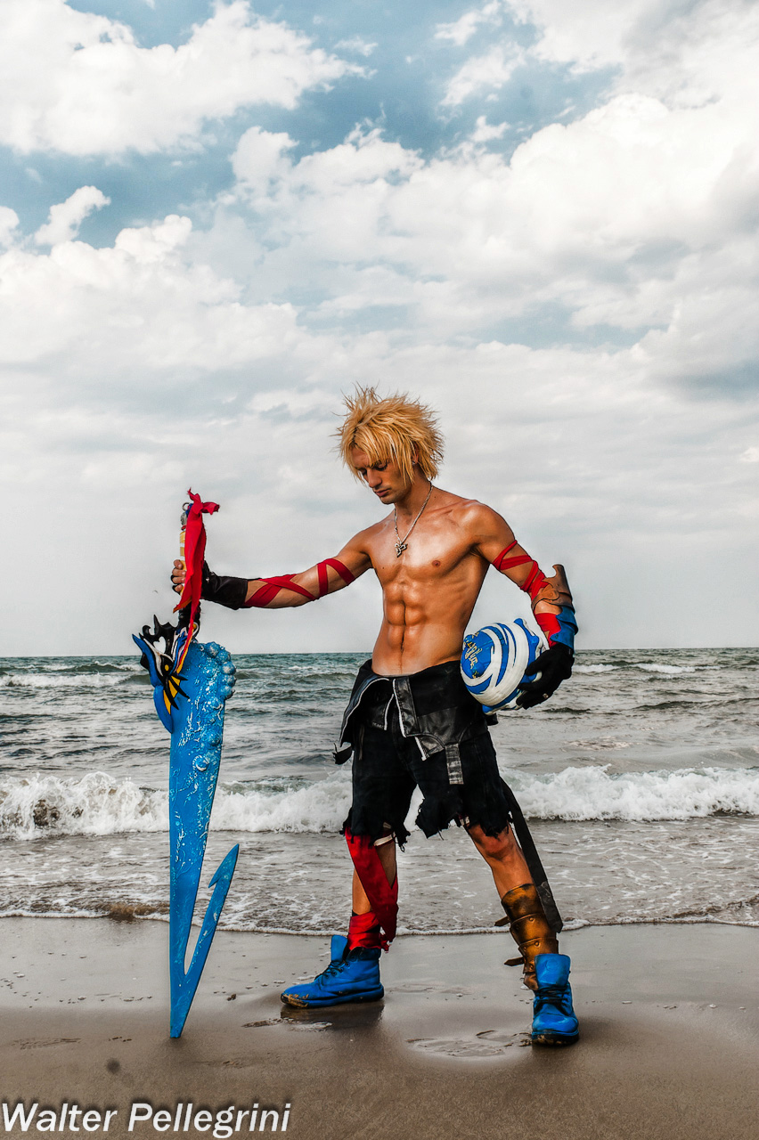 Tidus - Dissidia012 Cosplay \ Silence before Storm by LeonChiroCosplayArt
