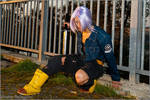 Future Trunks Cosplay by Leon Chiro to Roma Comics