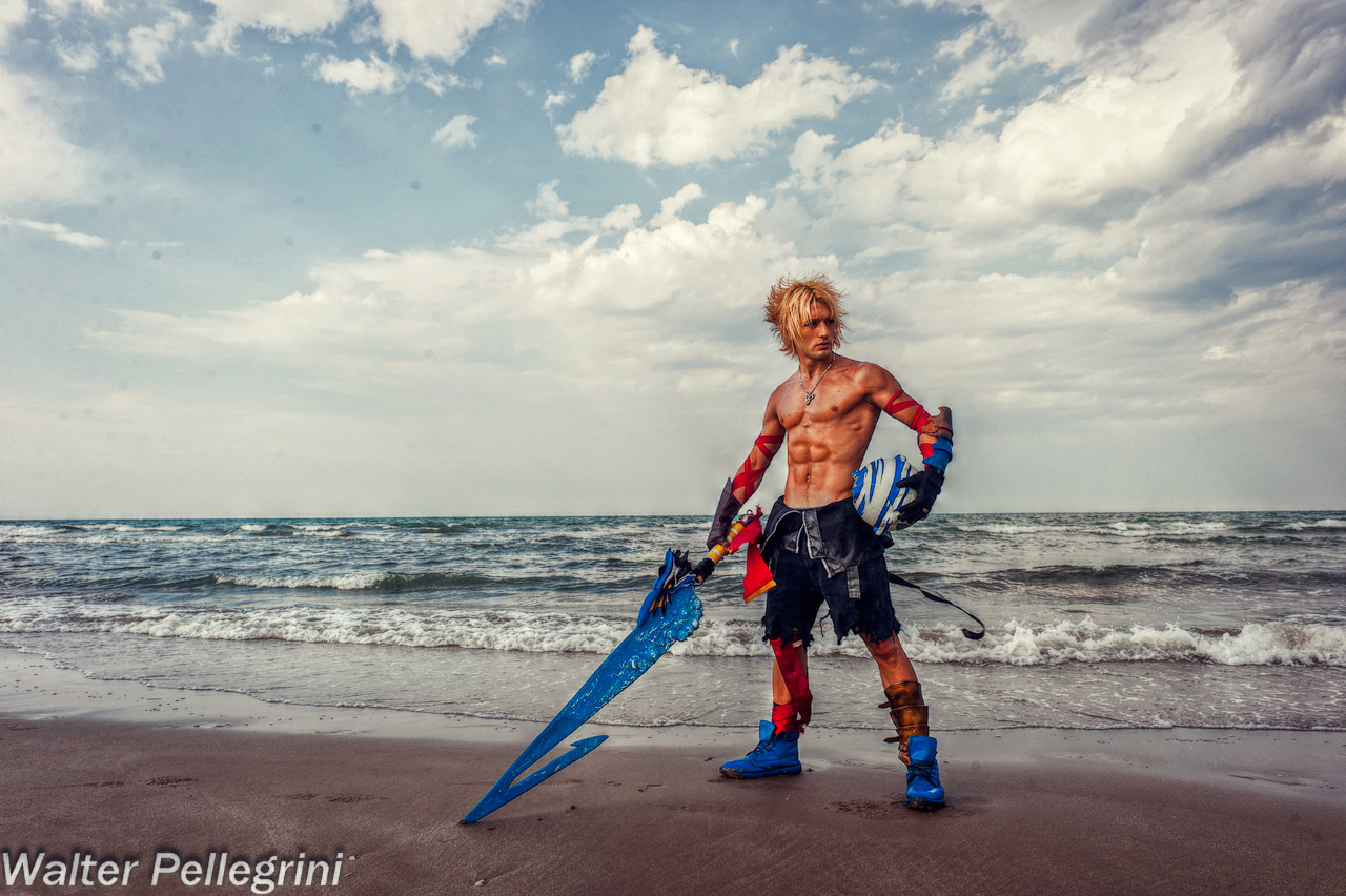 Tidus Dissidia Duodecim Cosplay -No Dream, No Hope by LeonChiroCosplayArt