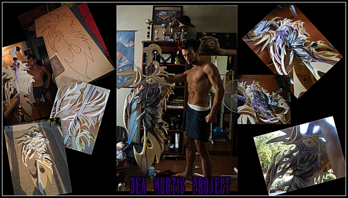 My Work In progress for Caius Cosplay part 1 by LeonChiroCosplayArt