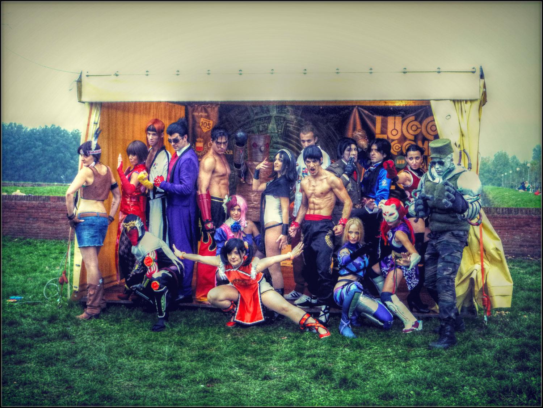 Tekken Cosplay - Best VideoGame Group Lucca 2012 by LeonChiroCosplayArt