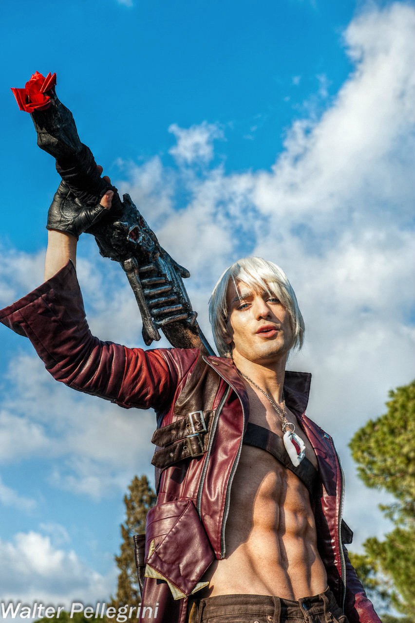 Last Words ? - Dante DMC3 Cosplay by Leon Chiro by LeonChiroCosplayArt