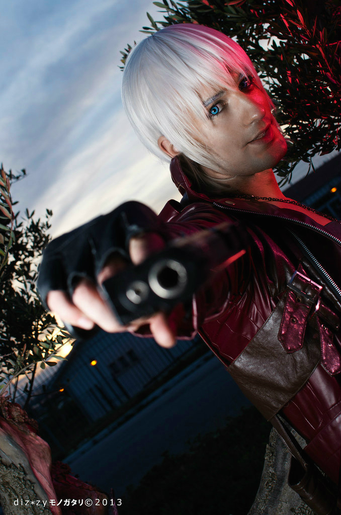 Get Out of My Way - Dante Cosplay by Leon Chiro by LeonChiroCosplayArt