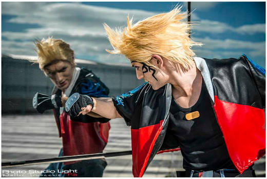Mirror Fight - Zell Dincht Cosplay by Leon Chiro