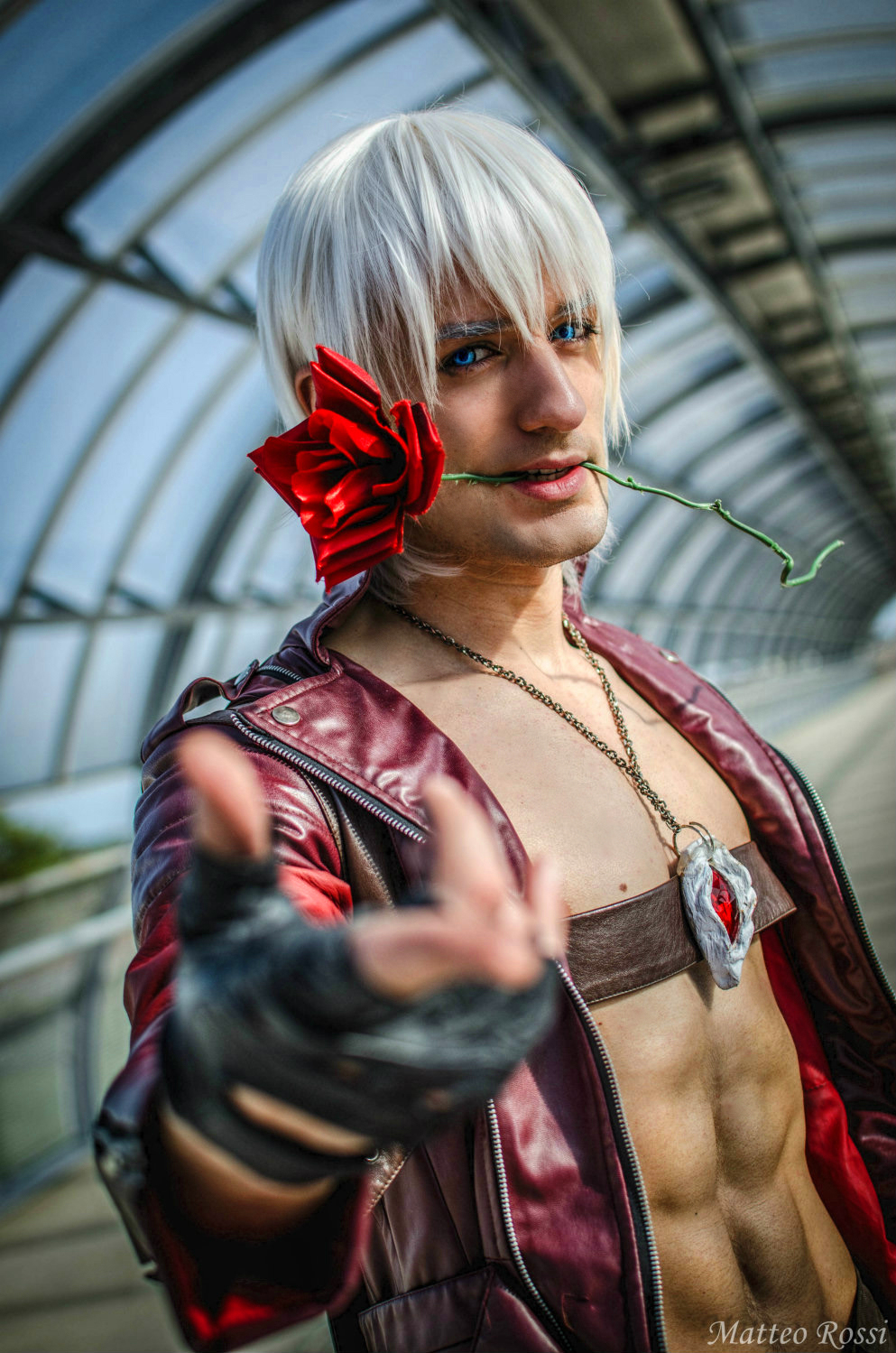 Vote for Dante - Leon Chiro Cosplay Art by LeonChiroCosplayArt