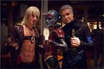 Cosplay Dante w/Vergil having a drink with Samara