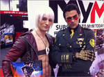 Dante and Mark Meer - Sheppard from Mass Effect
