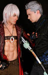 Demons of the Past - Dante and Vergil Cosplay DMC