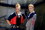 Zell and Seifer Cosplay - Final Fantasy VIII 2013