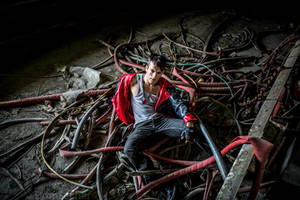 Underground DmC - Dante Cosplay by Leon Chiro by LeonChiroCosplayArt